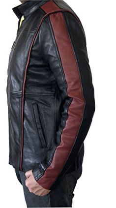 Mass Effect 3 N7 Game Real Leather Jacket ► BEST SELLER ◄ at Amazon Men's Clothing store: