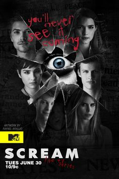 #Scream MTV. This TV series is the best. Can't wait for season two!