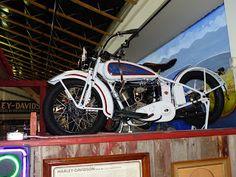 OldMotoDude: 1929 Harley-Davidson DL on display at the Rocky Mo...