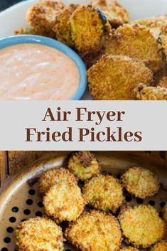 Made this afternoon 9 So yummy, ill be making a lot more.Air Fryer Fried Pickles are perfectl Keto Recipes, Vegetarian Recipes, Dinner Recipes, Healthy Recipes, Simple Recipes, Ketogenic Recipes, Low Carb Breakfast, Healthy Breakfast Recipes, Breakfast Ideas