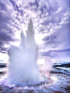 Strokkur, the biggest geyser in Iceland, Trey Ratcliff