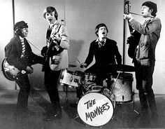 The Monkees in 1966. From left, Davy Jones, Peter Tork, Micky Dolenz and Mike Nesmith.