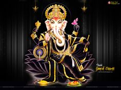 Happy Ganesh Chaturthi HD Wallpapers Download