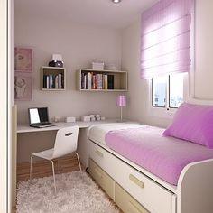 Minimalist Teen Bedroom Design