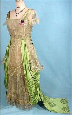 Evening dress, 1916.