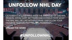 How to protest NHL lockout on what would have been your Opening Night