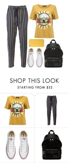 """Mallie"" by iarsotelo ❤ liked on Polyvore featuring Forte Forte, Converse and Yves Saint Laurent"