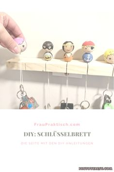 DIY Keychain DIY Craft Source by fraufriemel - Famous Last Words Diy Hanger, Diy Jewelry Hanger, Diy Jewelry Rings, Diy Jewelry Unique, Diy Jewelry To Sell, Wooden Bead Necklaces, Wooden Beads, Crafts To Sell, Diy And Crafts