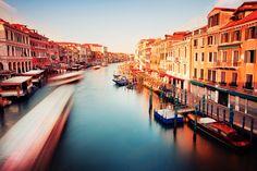 Waking up in Venice, Italy