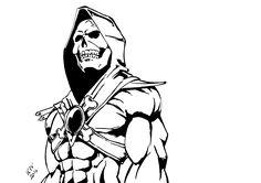 Heavy Metal guy Skeletor 😂