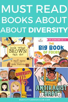 Check out our list of the best books for kids about diversity! Help promote conversations with your child about diversity, inclusion, race, and advocacy. Diversity Activities, Social Skills Activities, Educational Activities For Kids, Preschool Books, Preschool Activities, Little Books, Good Books, Teaching Kids, Kids Learning