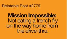 I do not choose to accept this mission! :)