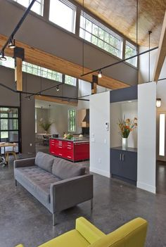 Love the use of tool boxes here