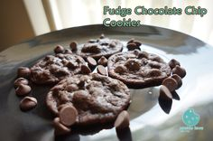 These cookies are for our chocolate lovers. Enjoy! #Chocolate  #desserts #semisweet