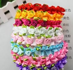 RM10 each  Seven colours available white, red, light pink, rose, pink, blue and yellow