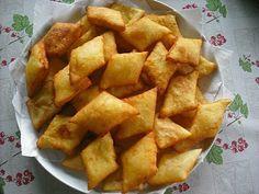 Krumplis párnák Snack Recipes, Cooking Recipes, Snacks, Hungarian Recipes, Starters, Cornbread, Sweet Potato, Main Dishes, Chips