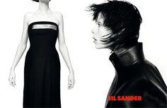 Edie Campbell en la campaña publicitaria Fall/Winter 2013-2014 de Jil Sander