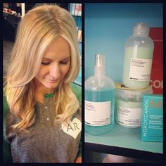 Long, blonde and beautiful hair needs Davines Melu products