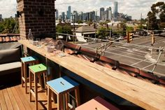 Sophie and Dale's rooftop terrace