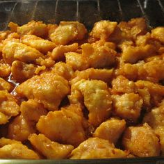 Baked Sweet and Sour Chicken...Made this for dinner with white rice and veggies and the family loved it! My husband even had a second FULL plate! There were no leftovers! Will definitely be making again!