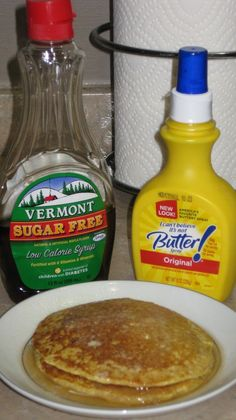 I love pancakes. Any topping, wheat or buttermilk, I love 'em. I miss them dearly. I know, I know, the Dukan Galette aka the Dukan pancake ...