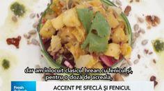 Fresh Refresh. Salată raw vegan de vară cu sfeclă roşie şi fenicul - reţeta VIDEO | REALITATEA .NET Raw Vegan, Potato Salad, Potatoes, Fresh, Ethnic Recipes, Food, Potato, Essen, Meals