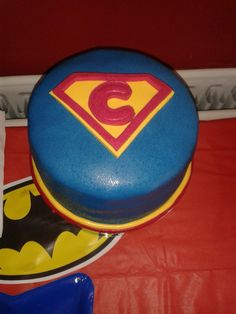 SuperConor's 6inch Vanilla Sponge Cake with buttercream and Jam filling.