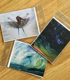 3 Pack Blank Greeting Cards
