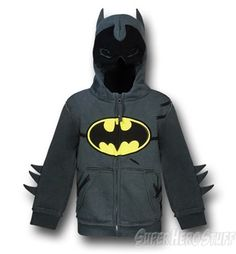 Batman Hoodies For Kids That Are Also Costumes