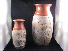 Mellblom Pottery Pair of Vases