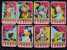 Punch & Judy Card Game