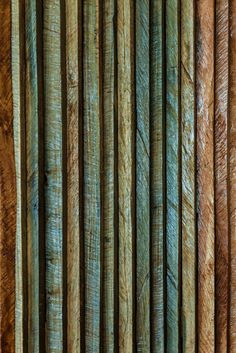 Over a dozen types of local wood were used in the crafting of our restaurant.   We saved all the off-cut strips from squaring the boards to make doors, internal walls, screens and other details.  Blue Mahaut, Kulbari, Bois Diable, Red Cedar, Bois Riviere and more.  TBT    #woodwork, #naturalbuilding #craftsmanship #zerowaste #dominica #natureisland #caribbeanvacation #caribbeantravel #sustainabletourism #ecoresort #ecohotel #manicouriver #treehouse #seaviews