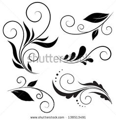 Find Calligraphic Design Elements stock images in HD and millions of other royalty-free stock photos, illustrations and vectors in the Shutterstock collection. Thousands of new, high-quality pictures added every day. Stencil Patterns, Stencil Designs, Swirl Design, Border Design, Embroidery Designs, Scroll Design, Mehndi Designs, Swirls, Design Elements