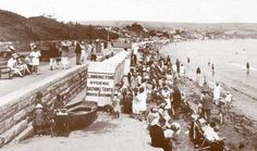 The Seafront 1925 in the Swanage Photo Archive and Gallery - Photo ref: 22 British Seaside, British Isles, Interwar Period, Sea Side, Bournemouth, Great British, Vintage Images, First World, Wales