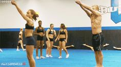 You spent more time perfecting your toe-touches than practicing cheers. | 35 Things Every Cheerleader Will Understand