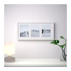 IKEA   RIBBA, Frame, You Can Choose To Use The Frame For 3 Pictures