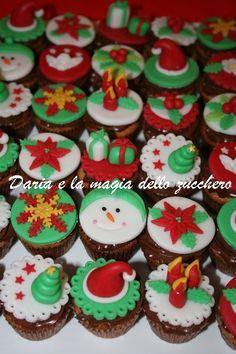 #Christmas minicupcakes #Minicupcakes Natale