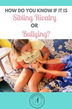 Where do you draw the line between sibling rivalry or bullying? They are closer than you might think. Adhd Kids, Autistic Children, Parenting Teens, Parenting Advice, Practical Parenting, Mental Health News, Sibling Fighting, Bad Teacher, Sibling Relationships