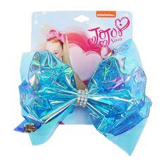 JOJO Siwa Transparent Hair Bows with Rhinestone Jojo Siwa Hair, Jojo Siwa Bows, Its Jojo Siwa, Jojo Hair Bows, Jojo Bows, 8 Year Old Christmas Gifts, Jojo Siwa Outfits, Bling Bling, Girls Nail Designs