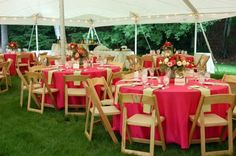 Pretty colors for a rehearsal dinner--especially the flowers!