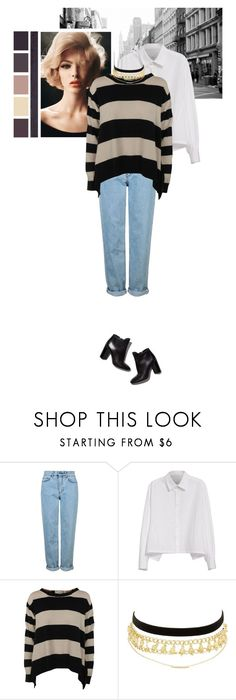 """""""#GoldChain"""" by emaanathar ❤ liked on Polyvore featuring Pierre Hardy, Topshop, Y's by Yohji Yamamoto, STELLA McCARTNEY, Charlotte Russe and powerlook"""