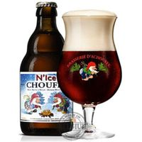 Bière de Noël N'Ice Chouffe brune 10% 33cl Malt Beer, Pizza And Beer, Beers Of The World, Belgian Style, Belgian Beer, Brew Pub, Message In A Bottle, Wine And Beer, Beer Brewing