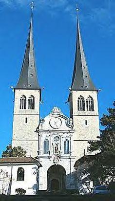 Lucerne - Hofchurch