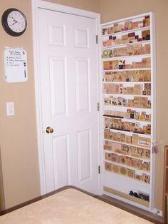 stamp organization behind door