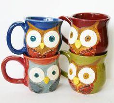 Mr Owl Ceramic Mug