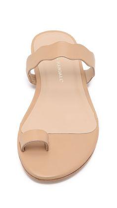Petal Toe Ring Sandals
