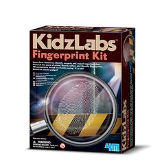 With this super cool Detective Science Fingerprint Kit Detective Science Fingerprint Kit! by Kidz Labs For Ages 7 *** Look into this wonderful product. (This is an affiliate link). Learning Toys For Toddlers, Toddler Learning, Steam Activities, Science Activities, Science Toys, Fun Projects, Art For Kids, Crime, Age