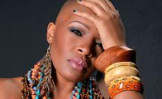 Bald, black and beautiful featuring model: Terri White