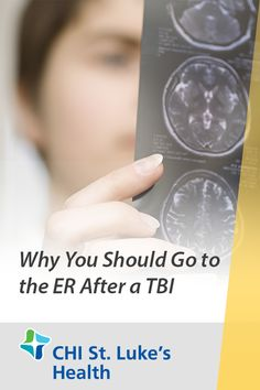 Traumatic brain injuries, or TBIs, are frightening events. Symptoms might not immediately appear following an injury to the head, and some people may insist they feel normal and don't need to go to the hospital. However, a TBI can cause an epidural hematoma, or a pooling of blood inside the skull. This is a medical emergency and requires immediate attention. Learn why you should go to the emergency room following any significant head injury. Epidural Hematoma, Emergency Care, Head Injury, Emergency Department, Traumatic Brain Injury, Blood Vessels, Things That Bounce, Skull, Medical