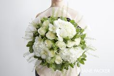 """""""Lychee"""" bouquet from the Jane Packer Online Collection - Summer Fruits 2016"""